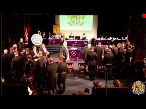 Inside Freemasonry: The Installation Of Officers For The Grand Lodge Of Indiana 2018-19
