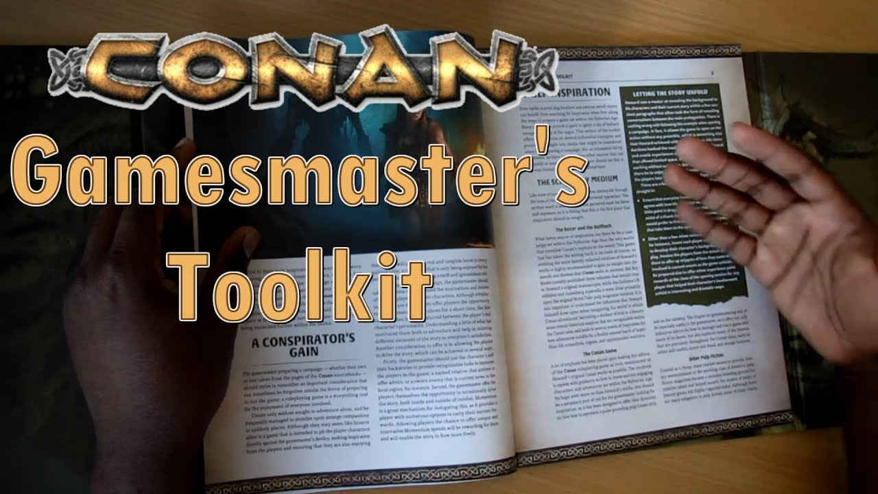 Conan: Gamesmaster's Toolkit (GM Screen and Book)