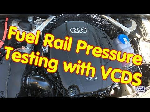 Fuel Rail Pressure Test with VCDS by Ross-Tech