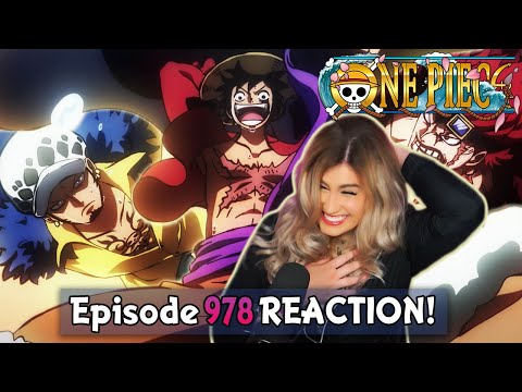 Download LUFFY x LAW x KID ARE AMAZING! ❤️🔥 | One Piece Episode 978 Reaction + Review!