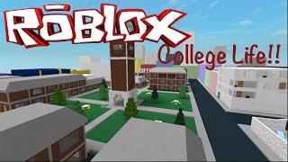 Roblox Game Play - College Life!! Guardami provare a fare skateboard intorno al college