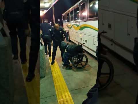 Police brutality in El Cerrito, .CA 9/12/17 El Cerrito Del Norte Bart