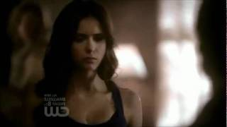 "Vampire Diaries 2x19 - Katherine and Damon - ""Give it to me!"""