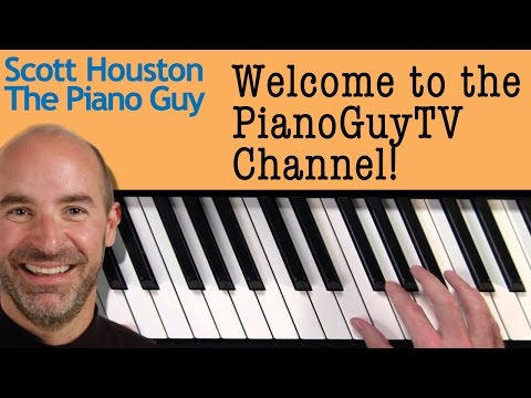 Welcome to Scott The Piano Guys PianoGuyTV Piano Lesson Channel!