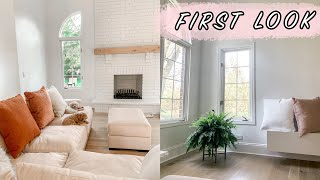 FIRST LOOK AT OUR COMPLETED HOME! | ELA BOBAK