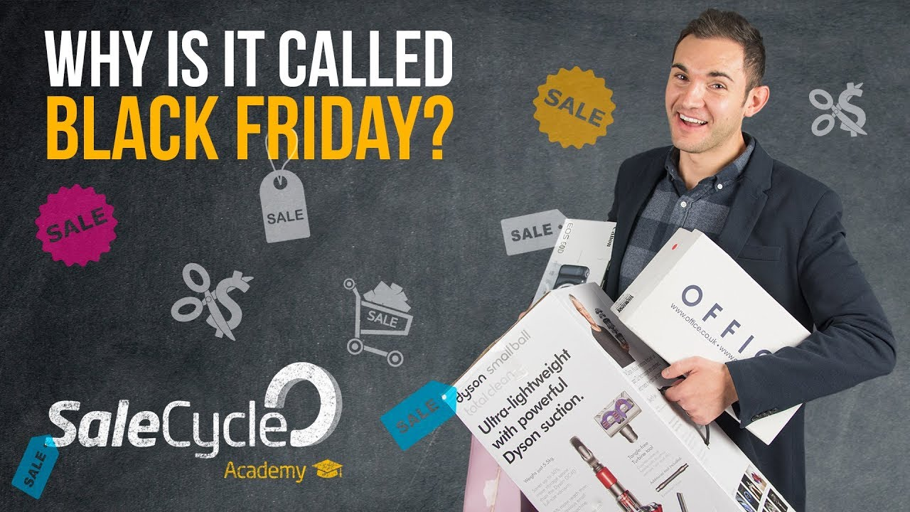 Why Is It Called Black Friday? - SaleCycle