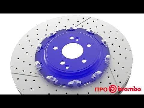 составные тормозные диски с плавающим ротором