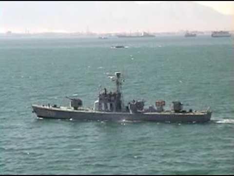 USS John F Kennedy 2002 Cruise Video - Suez Transit