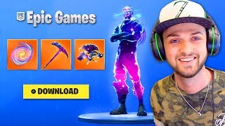 Unlocking the *NEW* Galaxy items in Fortnite!