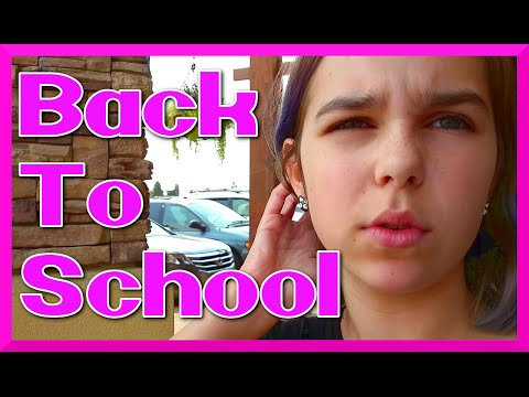 BACK TO SCHOOL 2015 Kids Clothes SHOPPING and HAUL plus Toy Hunt