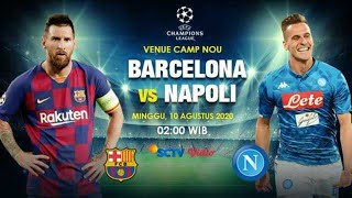 Barcelona vs napoli live streaming ...