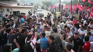 Port Dickson by-election nomination day: Datuk Seri Anwar Ibrahim arrives at nomination centre