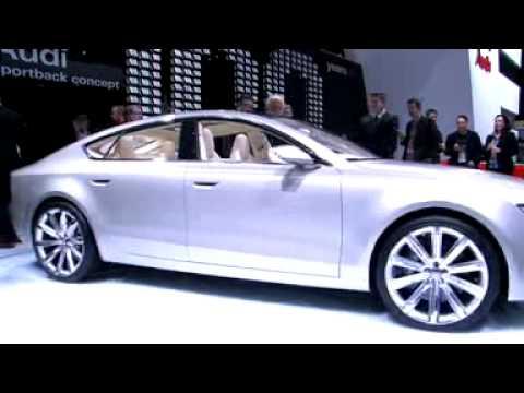 Audi Sportback Concept at Detroit motor show - What Car?
