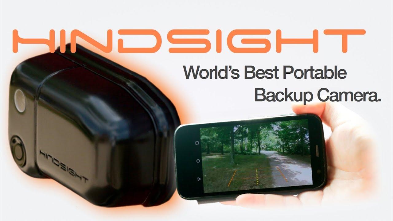 Backup Camera System >> Hindsight™ Portable Rear View Camera - YouTube