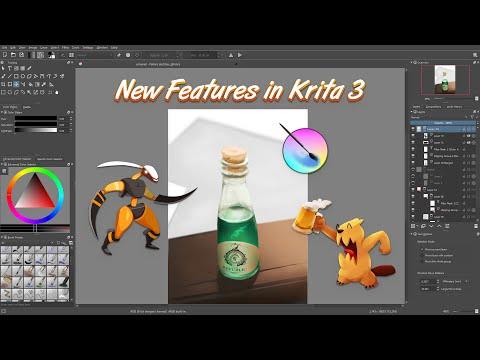 Lançamento do Krita 3.0