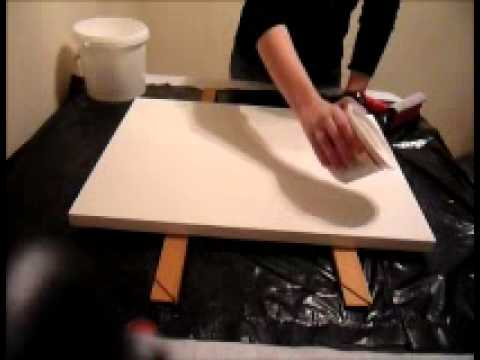 How to Create an Extremely Smooth Painting Surface