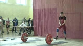 Потёмкин Вадим, 17 лет, вк 56 Толчок 91 кг