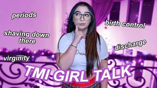 Answering TMI GIRL TALK questions *EXPLICIT*