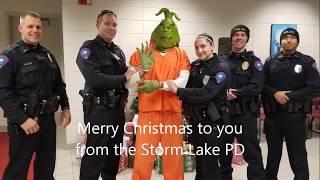 Storm Lake PD Grinch PSA 2017