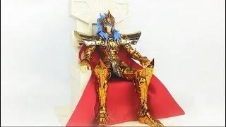 Saint Seiya:Bandai Saint Cloth Crown Poseidon圣斗士星矢圣衣皇级海皇波塞冬-刘哥模玩