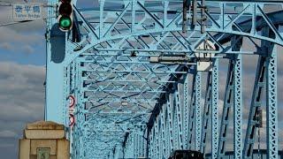 川や水辺、橋が好きです・・・大河、阿賀野川の広々とおおらかな川辺の...