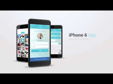 iphone 6 app presentation kit download after effects template