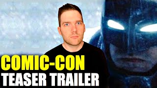 Batman v Superman Comic-Con Trailer - Review