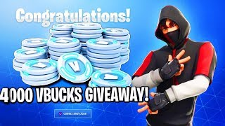4,000 Vbucks Giveaway in 588 subs!! T-series Vs Pewdiepie!! #Vbucks,#Fortnite