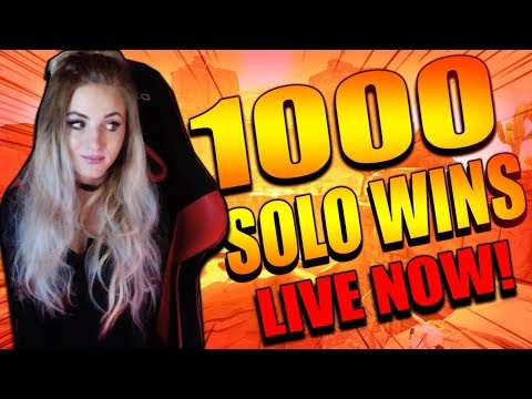 Fortnite - NEW UPDATE TOMORROW!  ROAD TO 1000 SOLO WINS! LIVE GAMEPLAY. 987 SOLO WINS