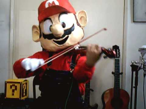 "String Player Gamer - ""Super Mario Violin Medley"" - YouTube"