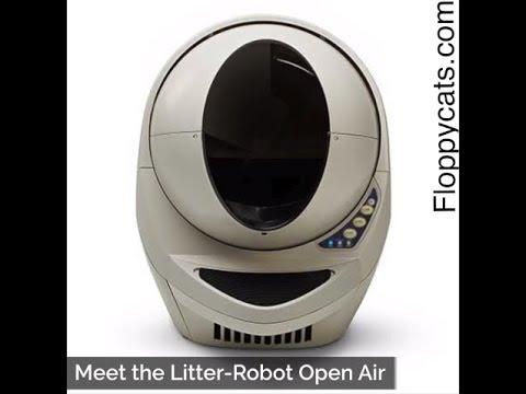 Best Automatic Litter Box: Meet The Litter Robot Open Air - ねこ - ラグドール - = ネコ - Floppycats