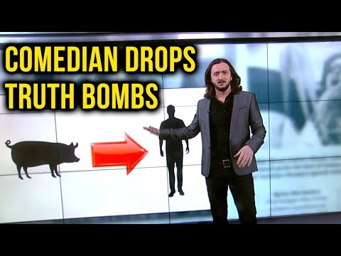Comedian Lee Camp Drops Vegan Truth Bombs on TV