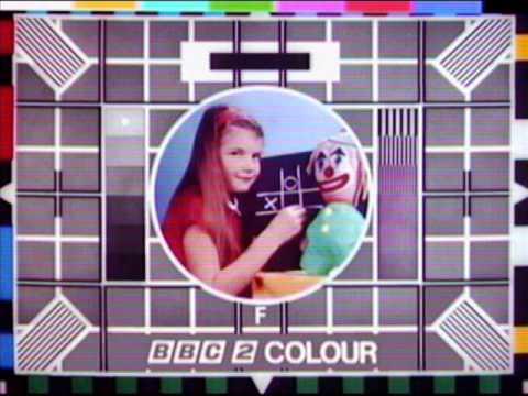 BBC 2 Test Card - Unto Us A Child Is Born
