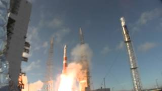 Launch pad remote camera captures the launch of GPS IIF-3 on a Delta IV rocket