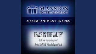 Peace In The Valley Medium Keydb Without Background Vocals