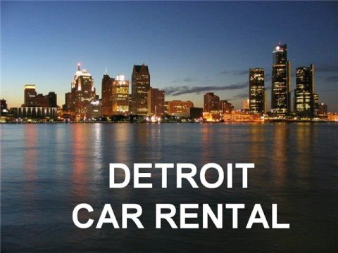 Detroit Car Rental, Cheap Car Rental DTW, Detroit Rent-a-Car DTW