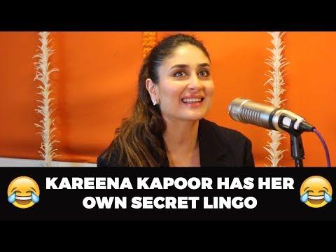 Kareena Kapoor Has Her Own Secret Lingo | Malishka | Veere Di Weeding