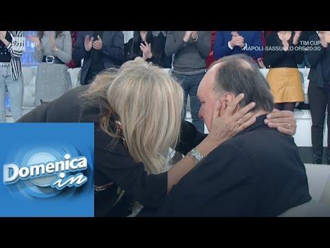 Mara Venier si emoziona ricordando il passato con Giampiero Galeazzi - Domenica In 13/01/2019