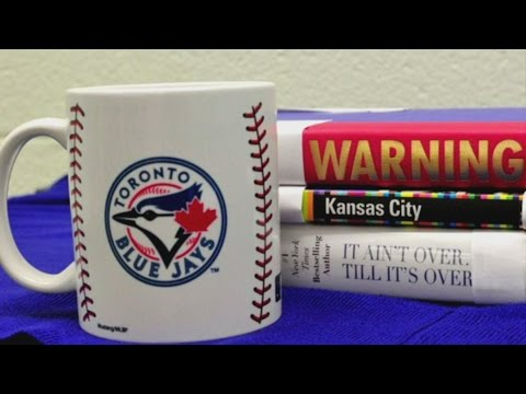 Toronto and Kansas City libraries face off over Blue Jays-Royals series