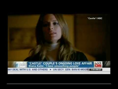 Stana Katic on CNN talking about Castle