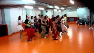 "Ensaios Swing Baiano 1- Prof. Lico-Studio do Corpo - ""I miss her""- Olodum"