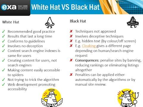 Black Hat VS White Hat SEO - YouTube eb746082a2b0