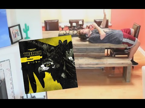 Shane dancing to the Trench album in chronological order