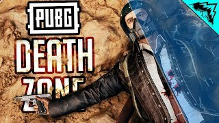 PUBG WTF RULES: INSTANT DEATH ZONES - PlayerUnknown's Battlegrounds LIVE Custom Games