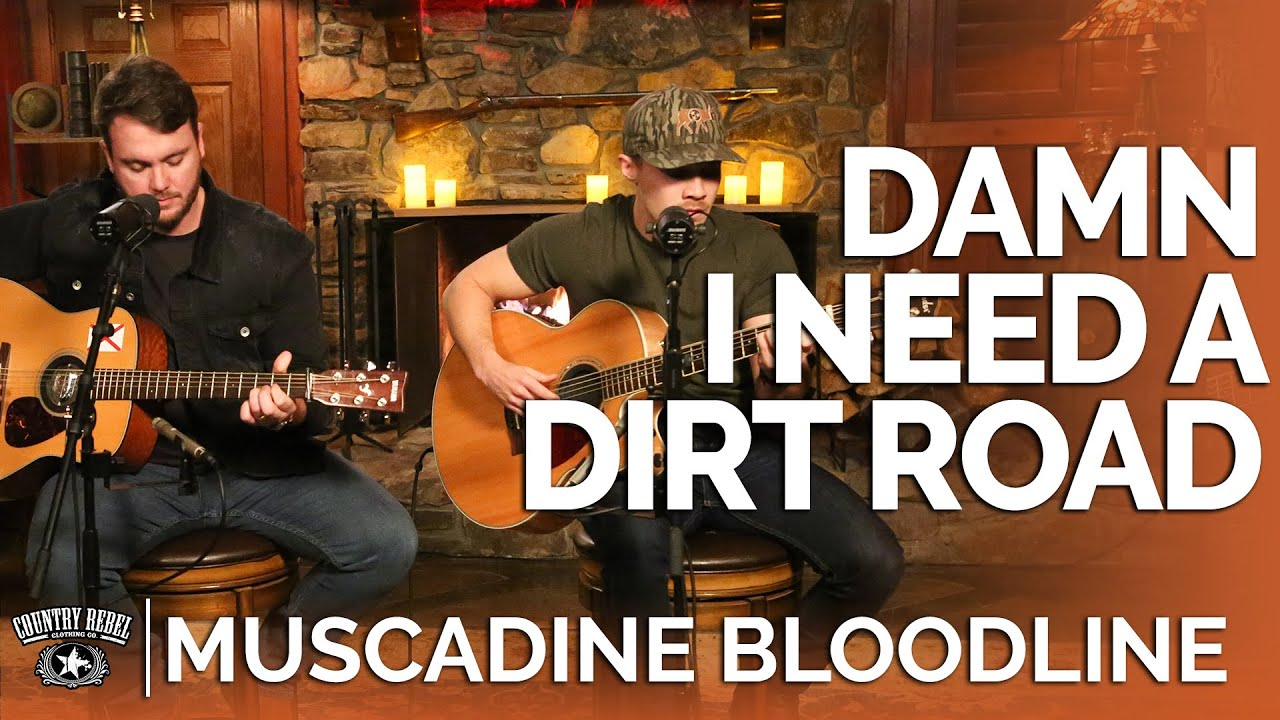 Muscadine Bloodline — Damn I Need A Dirt Road (Acoustic) // Fireside Sessions