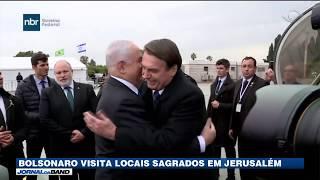 Bolsonaro visita locais sagrados em Jerusalém