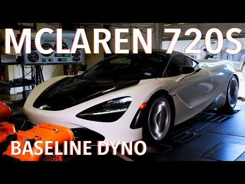 Watch McLaren 720S dyno run reveal supercar's real power