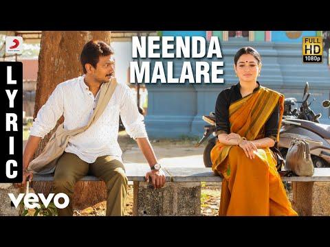 Kanne Kalaimaane - Neenda Malare Tamil Lyric | Udhayanidhi Stalin, Tamannaah |Yuvan