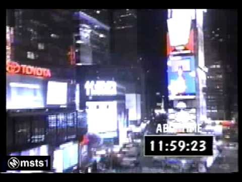 New Years Eve Countdown Live