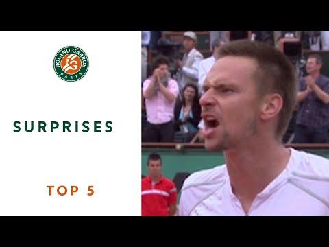 Top 5 Surprises - Roland-Garros